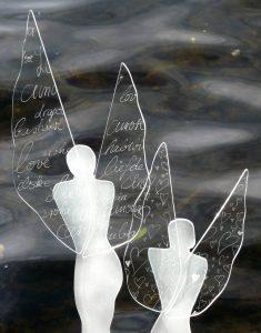 Glasengel Glaskunst Antje Otto Keitum Sylt